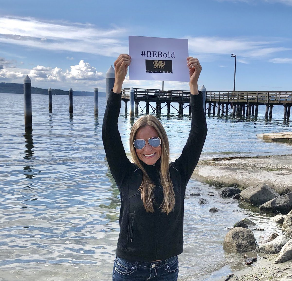 So proud to be a Dragon and support my Pacific Northwest Cambria team! With #Cambria you can #BE who you want to #BE! Find your inspiration at http://www.cambriausa.com  #WeAreCambria @cambriasurfacespic.twitter.com/Eye4vJtd6r