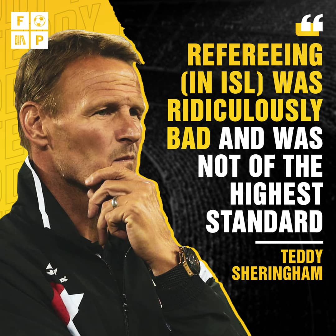 Former ATK coach, Teddy Sheringham talks in depth about the 👎 drawbacks of #HeroISL  #IndianFootball #LetsFootball https://t.co/oW1n1R9RNz