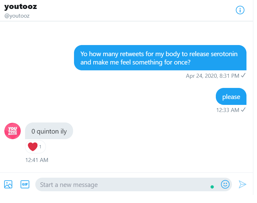 y'all i got some big news   @youtooz and I have teamed up to say that I deserve to love myself  click retweet to accomplish absolutely nothingpic.twitter.com/Dfsj18AebP