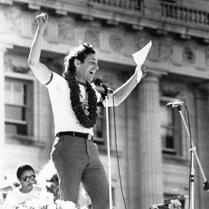 Happy Birthday to an American who made America great! Harvey Milk!