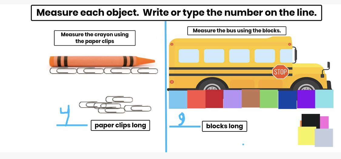 @Seesaw has been a wonderful tool to use for students to explain their thinking and measure using nonstandard units!  I love hearing their voices and seeing photos of my favorite learners. #VBAlwaysLearning @LuxfordES https://t.co/4xiEKrRD8k