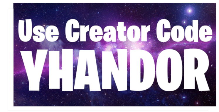Hey everyone, just a friendly reminder if you use my Epic Games Creator Code, you have to manually re-enter it every 14 days since Epic auto clears them. Thank you for your support! #EpicGames #CreatorCode #Yhandorpic.twitter.com/IhpmR2fUy7