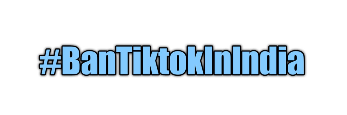 Ban Tiktok In India 🇮🇳🇮🇳🇮🇳. Please support this campaign..... It starts with u @BanTiktokIndia. #BanTikTokInIndia  @PMOIndia https://t.co/kfeB66gV8J