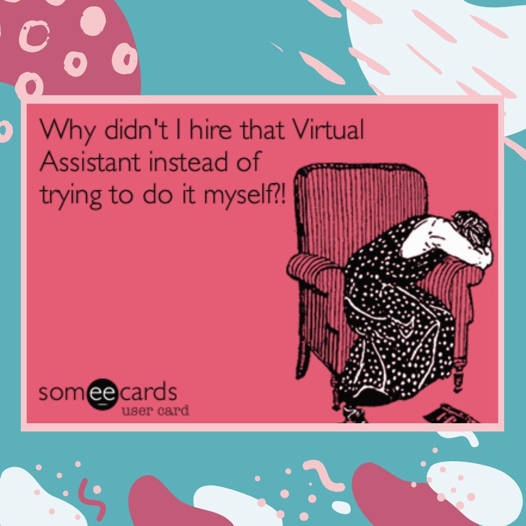 Regrets always come in the end.  . . #virtualassistant #customerservice #freelancerpic.twitter.com/nkpRDpkfaF