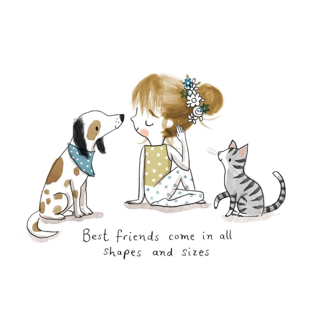"Cally Johnson-Isaacs on Instagram: ""best friends come in all shapes and sizes #best_of_illustrations #illustrationnow #moreillustrations #yoga #yogspiration…"" Happiest Quotes - https://happiestquotes.com/2020/05/23/cally-johnson-isaacs-on-instagram-%f0%9f%92%99best-friends-come-in-all-shapes-and-sizes%f0%9f%92%99-best_of_illustrations-illustrationnow-moreillustrations-yoga-yogspiration/ …pic.twitter.com/NIho0eozG1"
