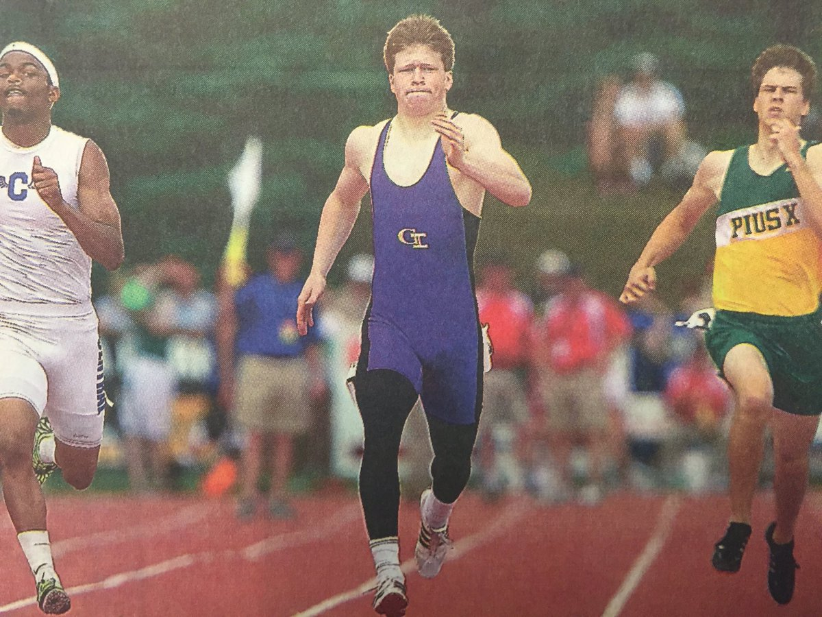 In 2011, Sam Foltz ran a 48.534 in the 400 at the State Track Meet and set the School Record! @nsaahome #nebpreps <br>http://pic.twitter.com/dkJ68xe4Pf