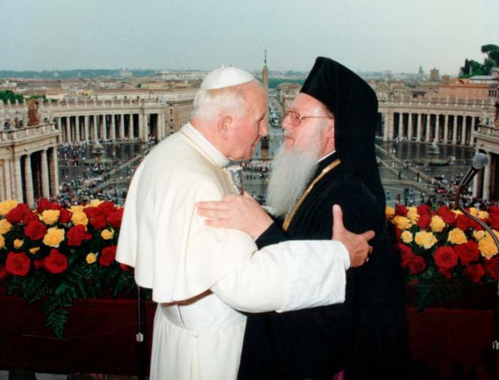 John Paul II's ecumenism encyclical, in contradiction to Pope Pius XI's Mortalium Animos...