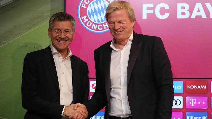 @ChampionsLeague @OliverKahn @FCBayernEN Unlike other clubs, Bayern do reward their legends. Kahn is now part of the board, and will take over as the CEO come 2022. #MiaSanMia @FCBayernUS https://t.co/rIN7qZe5dM
