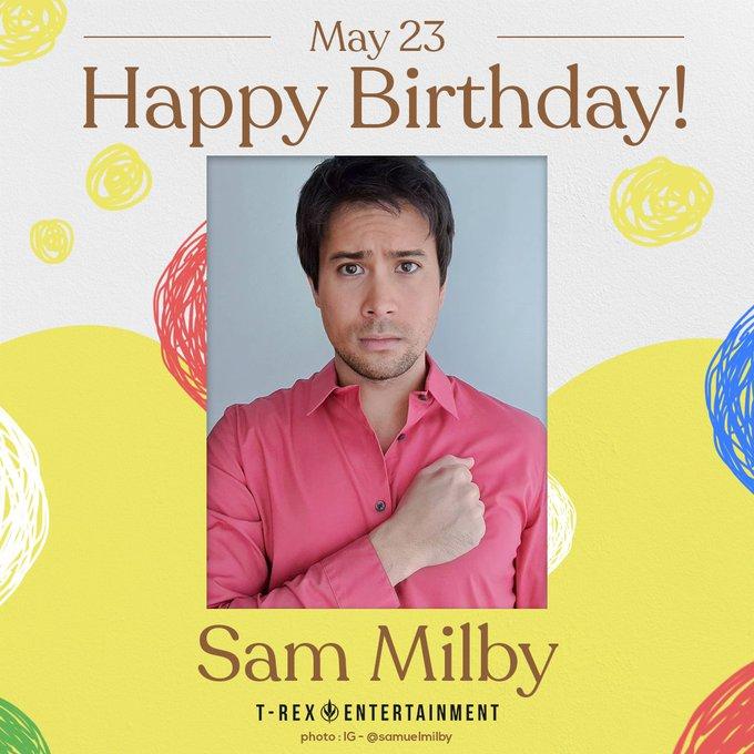 Happy birthday, Sam Milby! Enjoy your very special day!