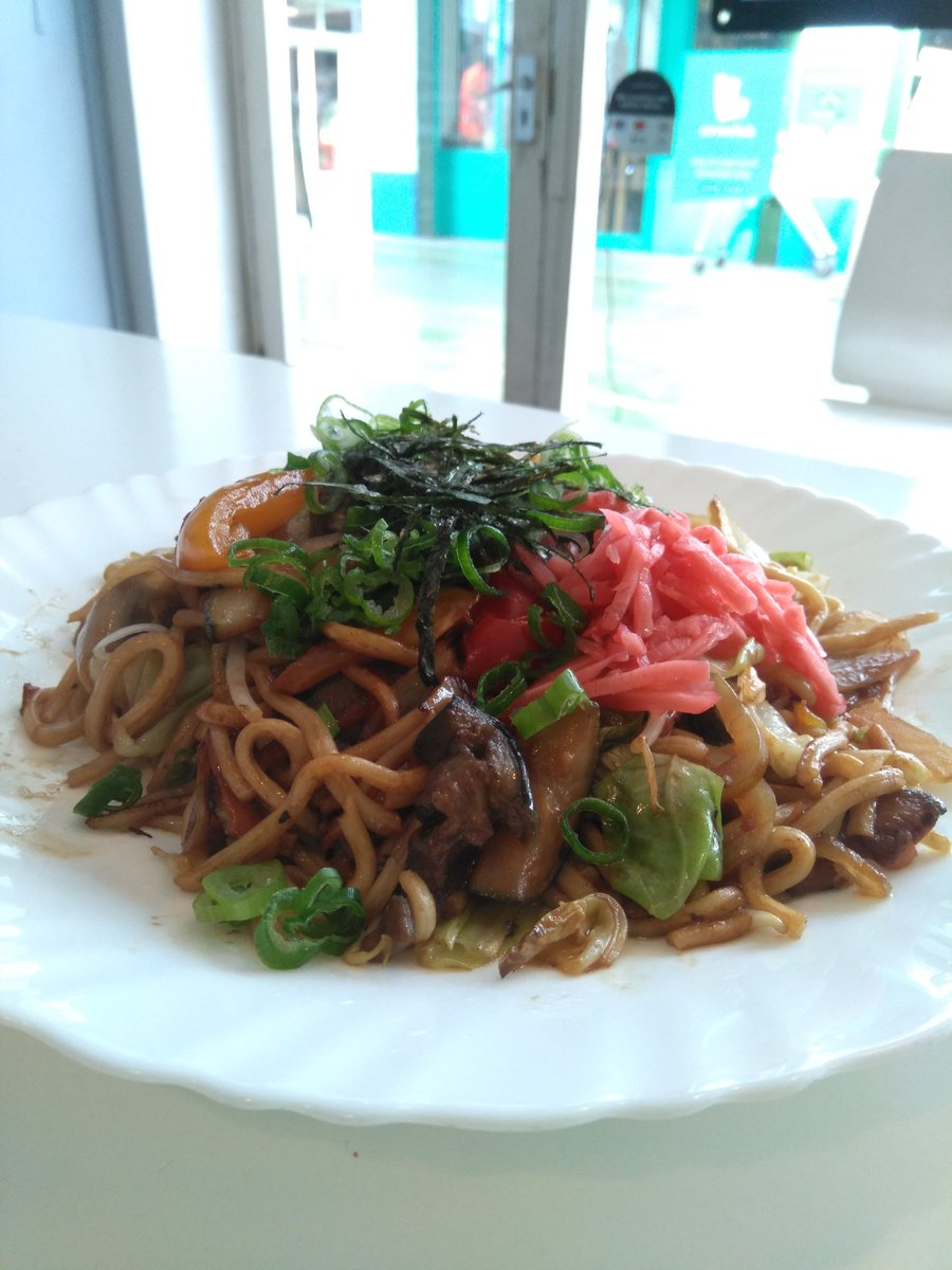 Today, we are open from 12 pm to 9 30 pm for #Takeaway ( Tel 020-73261399) and #deliveroo . Vegetable yakisoba ( #vegan) . #brixton #brixtonvillage #yakisoba pic.twitter.com/AVyn6f5z8T – at Brixton