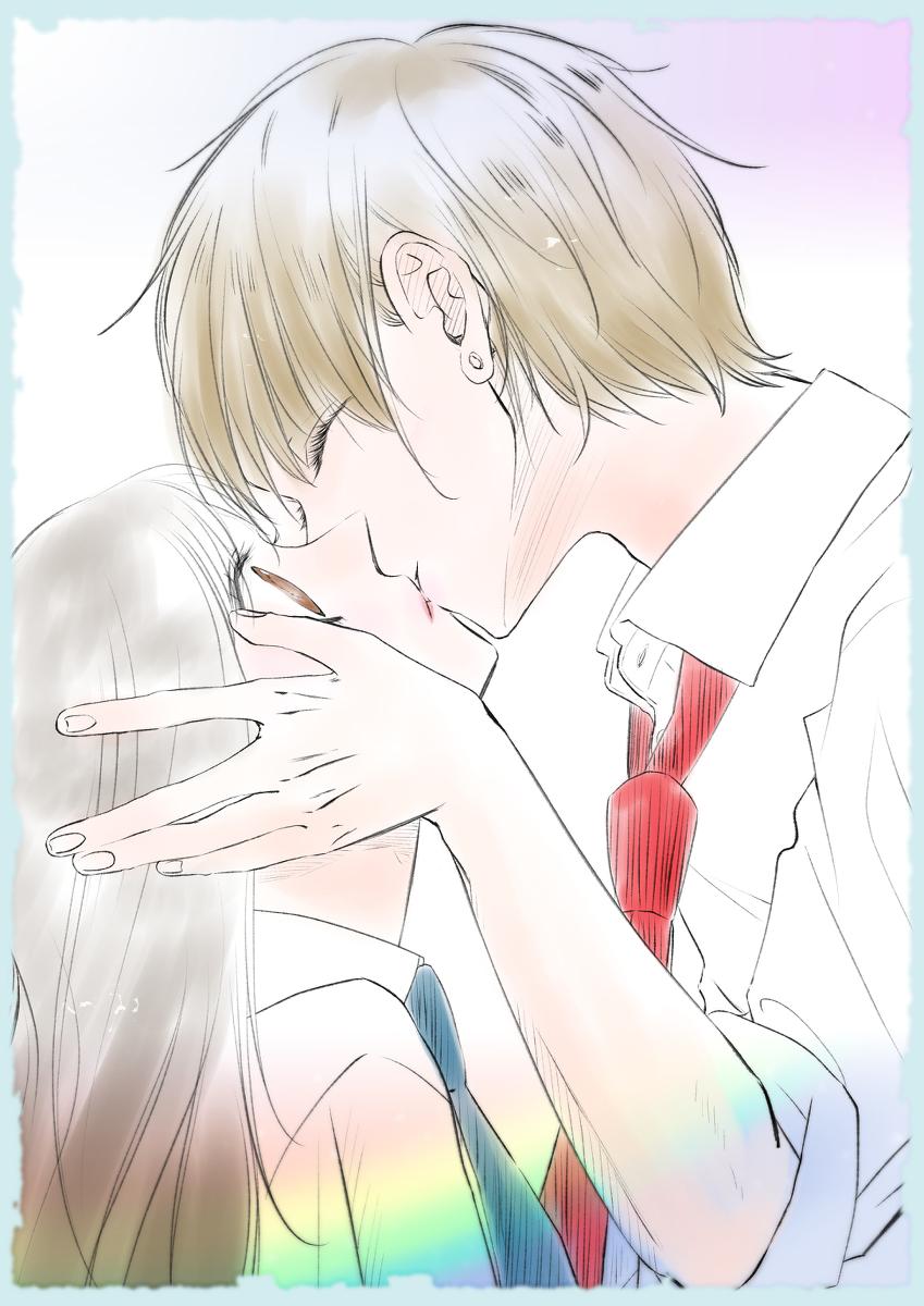 Kiss #キスの日 #CLIPSTUDIOPAINTEX #デジタル #オリジナル #女の子 #クリスタ #イラスト #少女漫画 #カラー #カラーイラスト https://www.pixiv.net/artworks/81795764…pic.twitter.com/STYnj6Mvgl