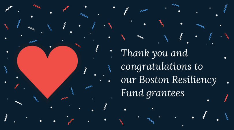 Congratulations to these organizations and more. Thank you for all you do! @dbedc @CaritasBoston @MAHomeless @Y2YNetwork @LovinFoodRescue @BrookviewHouse @DeNovoCenter @BostonAsianYES @TeenEmpowerment @EBNHC @JP_NDC @SSYPBoston @ACEDONEBOSTON @CSNDC @IPCBostonpic.twitter.com/RF5Air8lVW