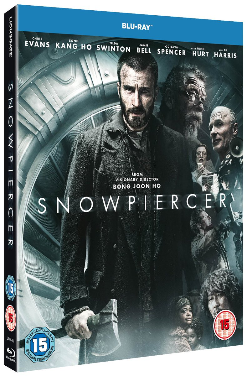 RT & Follow us to #win a DVD copy of #BongJoonHo sci-fi thriller #Snowpiercer starring @ChrisEvans #TildaSwinton #SongKangHo @OctaviaSpencer @1JamieBell and #EwenBremner - Available for the first time on UK Blu-ray and DVD 25 May: https://t.co/f7sjAwLR2o #Snowpiercer @LionsgateUK https://t.co/yTC64ksGLm
