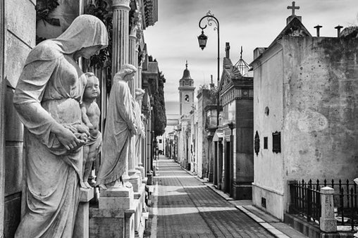 La Recoleta, #BuenosAires —Abhay K.  Death asks life at La Recoleta —how long will you last ?  Look at me, I'm eternal— the final truth.  Come, rest amidst these exquisite stones, give in, the universe is my necropolis.  From The Alphabets of Latin America https://www.amazon.in/Alphabets-Latin-America-Carnival-Poems/dp/9389867908/… pic.twitter.com/Kj8fpoeXPX