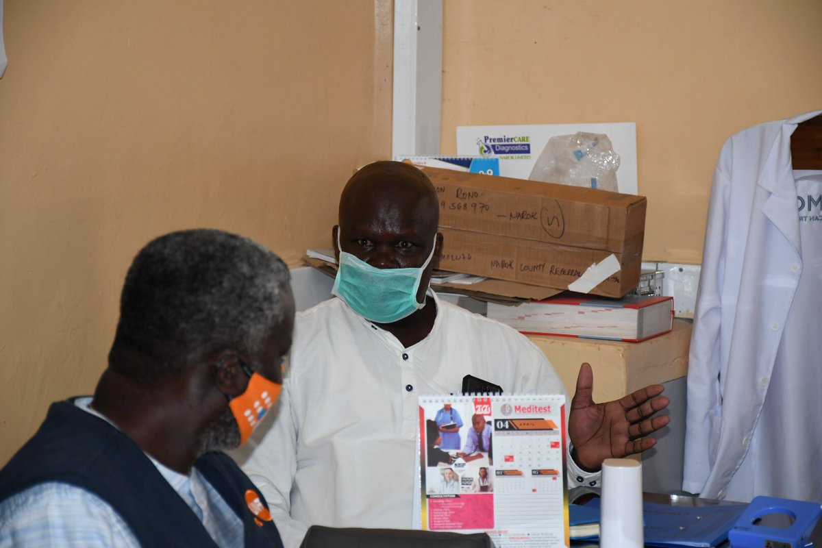 """""""Since we started Fistula Repair 8 months ago we have done over 60 patients with a success rate of over 95% and for us that's a great achievement"""" Dr Otulo- Lead Fistula Surgeon Narok County Hospital #IDEOF2020"""