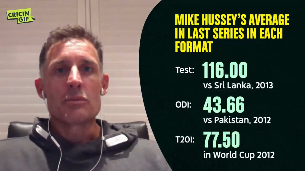 Mike Hussey turns 45 today. He is a former number one in Tests and ODIs. But did he retire early? Let's hear from the man himself.
