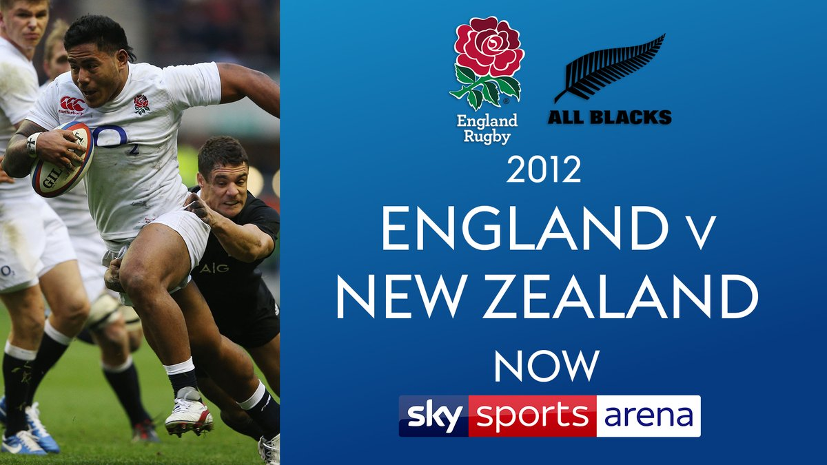 test Twitter Media - 🗓️ 1st December 2012 🗓️  Re-live the classic match between @EnglandRugby 🏴󠁧󠁢󠁥󠁮󠁧󠁿 and the @AllBlacks 🇳🇿 from that day now on @SkySports Arena 📺  👇 Details 👇 https://t.co/e7yuascslf