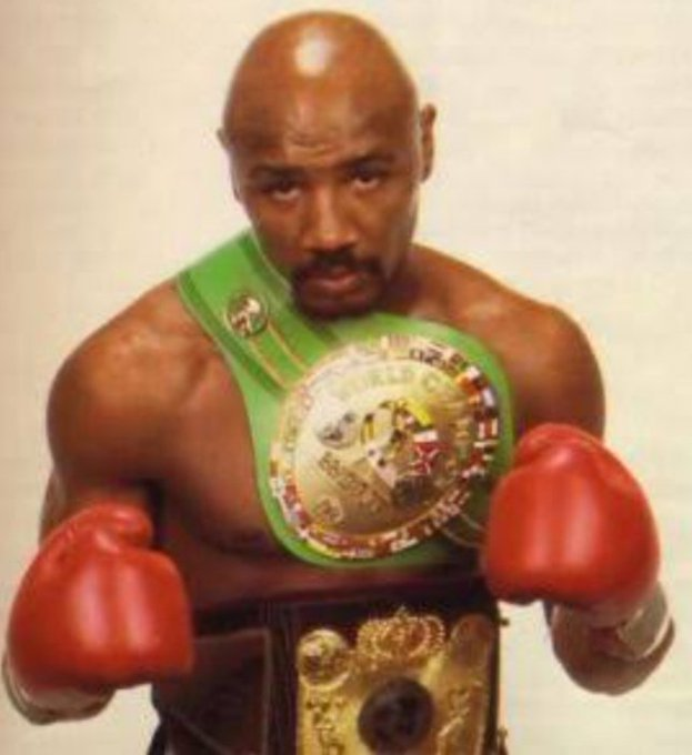 """Happy birthday to one of the greats     \""""MARVELOUS MARVIN HAGLER\"""""""