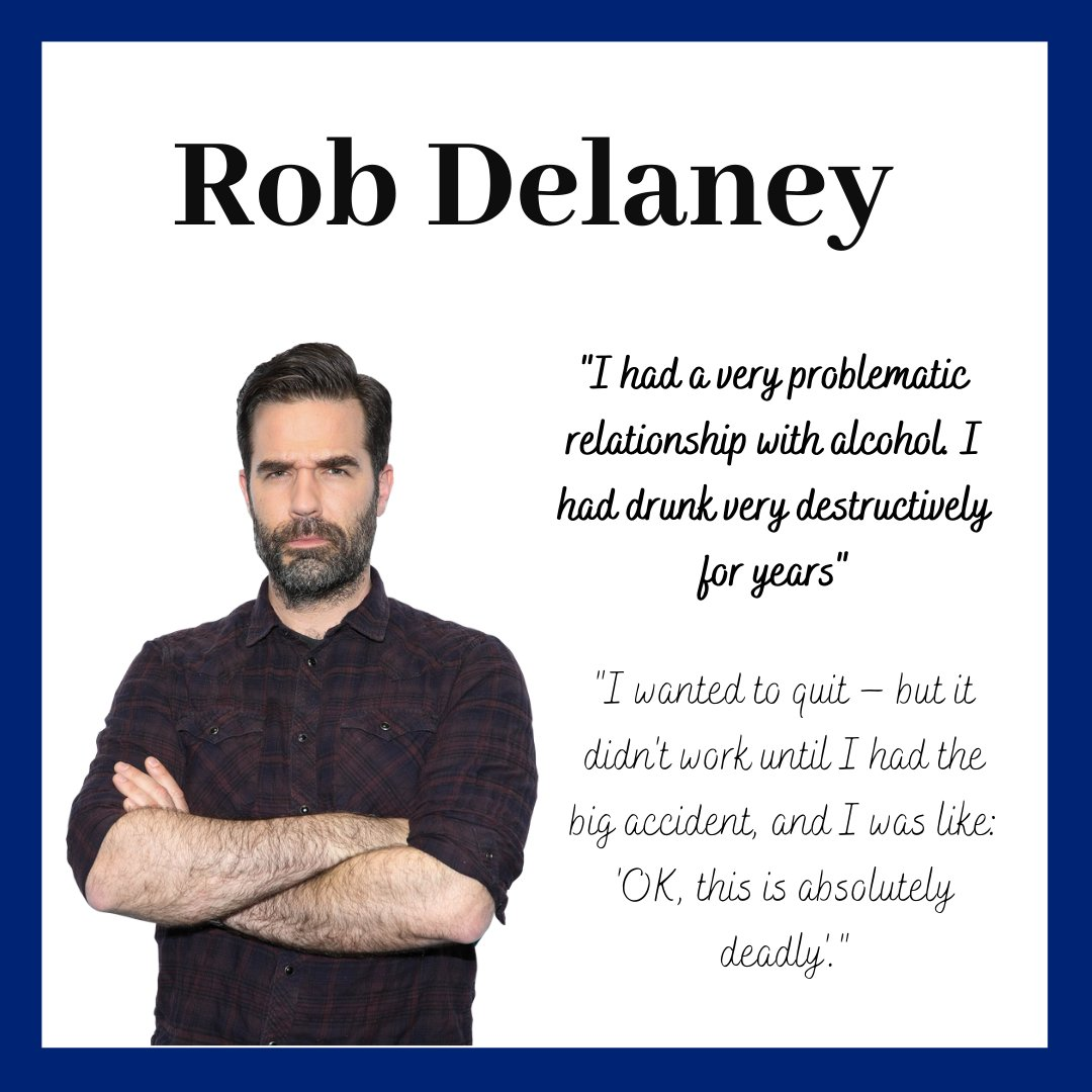 Alcohol abuse and addiction can be all-consuming, debilitating and scary. If this is something you struggle with, you are not the only one. To read more about Rob Delaneys experience, click here: independent.co.uk/arts-entertain… #MentalHealthAwarenessDay