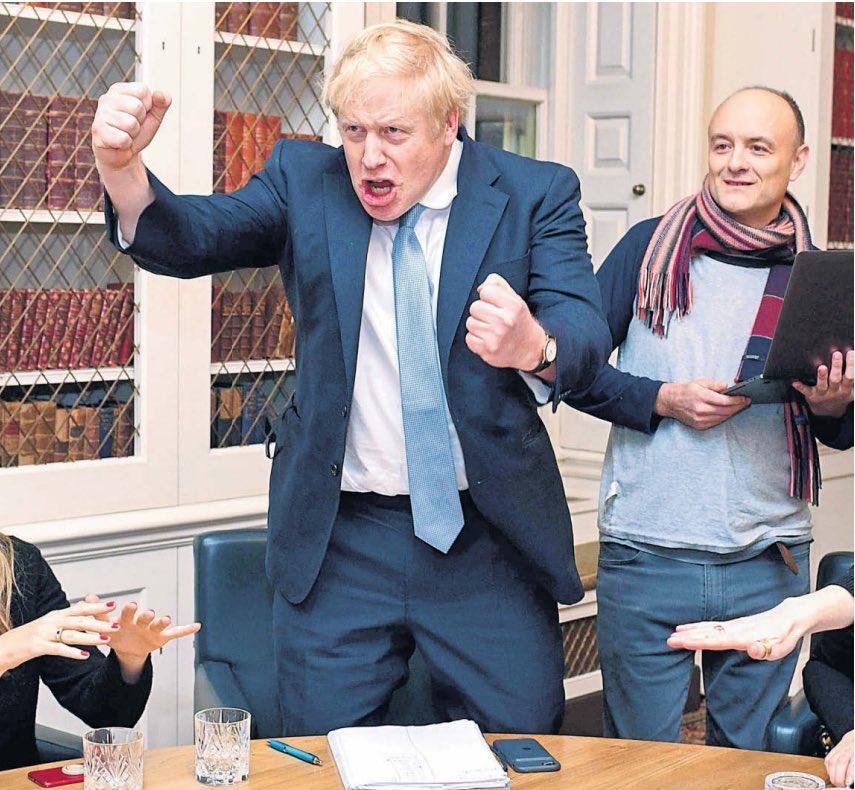 If Boris doesn't fire Cummings today, then I will deem the Lockdown over & drive down to see my parents (from a 2m distance) for the first time in 12 weeks. I'm not having one rule for these clowns & another for the rest of us.pic.twitter.com/EMGb9ETTVf
