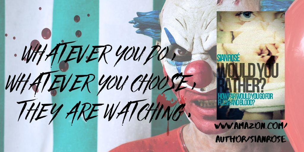 #Chilling, #twisted #suspense #thriller... #read an extract here:  https:// sianroseauthor.wordpress.com/2020/05/20/wou ld-you-rather-an-extract/  …  download the #eBook at  https://www. amazon.com/dp/B088HGQ7GD     #FREE on #KindleUnlimited ! #CrimeFiction #mysterythriller #PsychologicalThriller #booklovers #ebooks<br>http://pic.twitter.com/F7QiJjvSwL