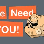 Image for the Tweet beginning: WE NEED YOU! We're asking
