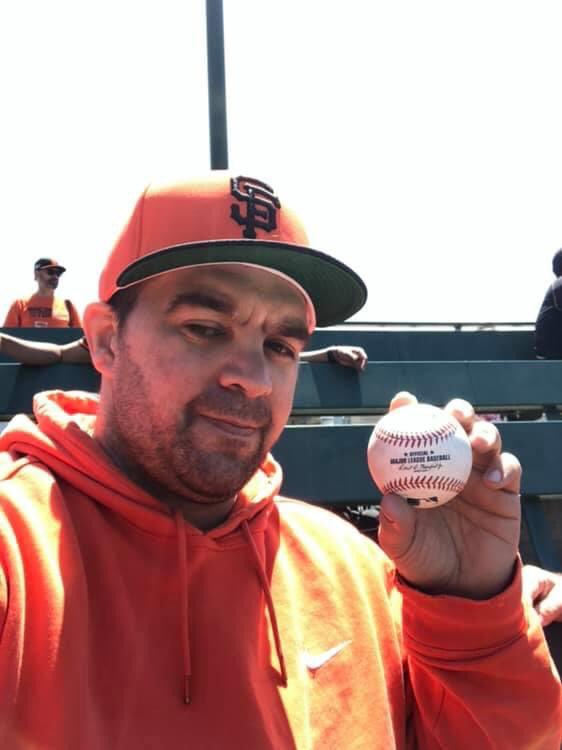 1 year ago today May 23,2019 I got a baseball at the San Francisco Giants game! That Kevin Pillar was Throwing the baseball  towards my mom and it just almost hit my mom in the face and I put my glove out and I caught it and then I gave it to my mom! <br>http://pic.twitter.com/vTreuwbfaM