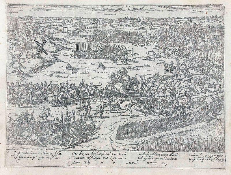 En estos momentos, hace 452 años, los soldados de los Tercios se enfrentaron a las tropas rebeldes  en Heiligeerle. Fue una derrota. Los Tercios no fueron invencibles, eran hombres como todos nosotros. Eso sí, demostraron su profesionalidad y valor siempre y en todo momento https://t.co/LyPao6LWz3