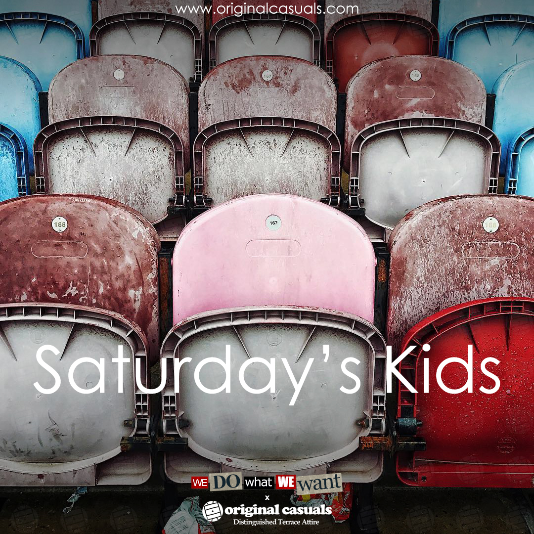 Saturday's Kids!!  #Saturdayskids #violenza #Tshirts #Casuals #football #SubCulture #stayingcasual #BeSafe #FCKCVD19 #OriginalCasualspic.twitter.com/9iHr65ix5V