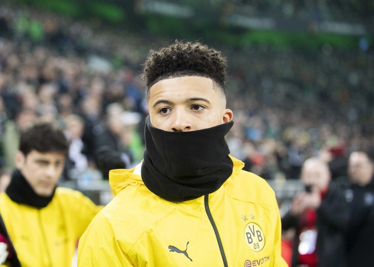 COMPETITION: If Jadon Sancho scores first against Wolfsburg today, we'll giveaway a brand new Bundesliga shirt of your choice. 😍🇩🇪  Simply RT and follow this account to enter. ✅🔁 https://t.co/rvXCNEhgw9