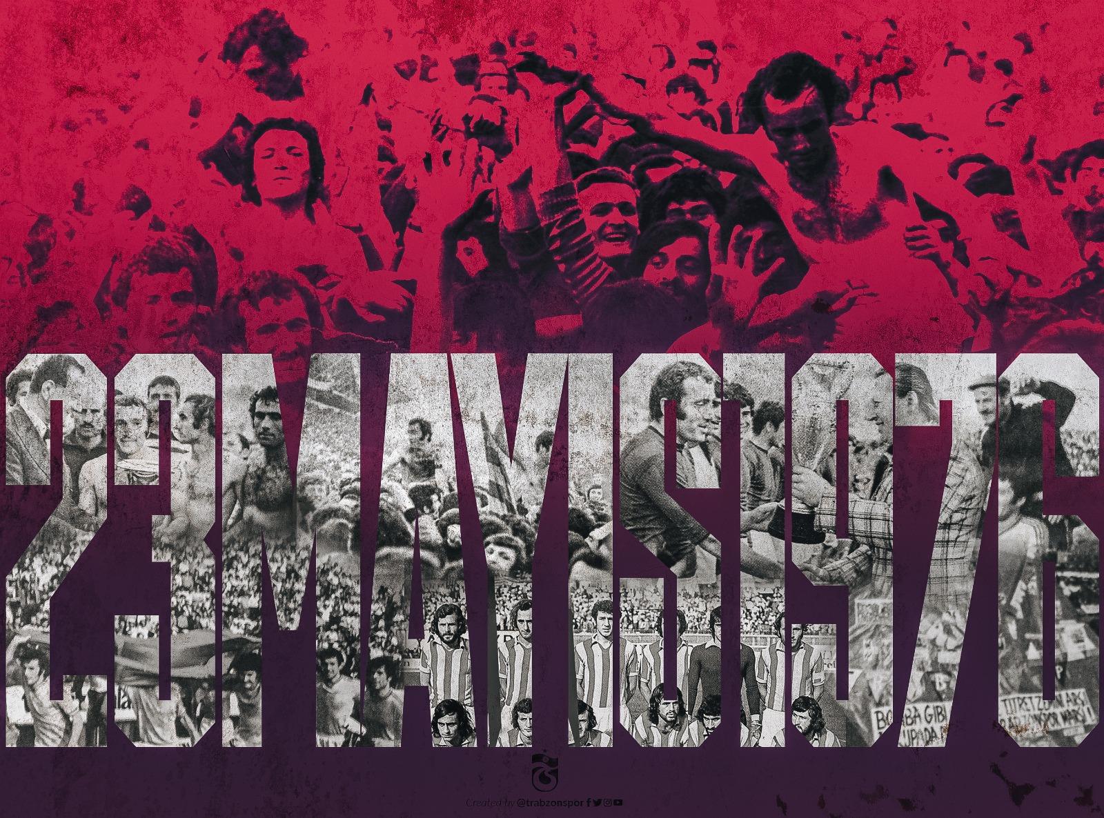 Trabzonspor birinci şampiyonluğunun yıl dönümünü kutladı 2