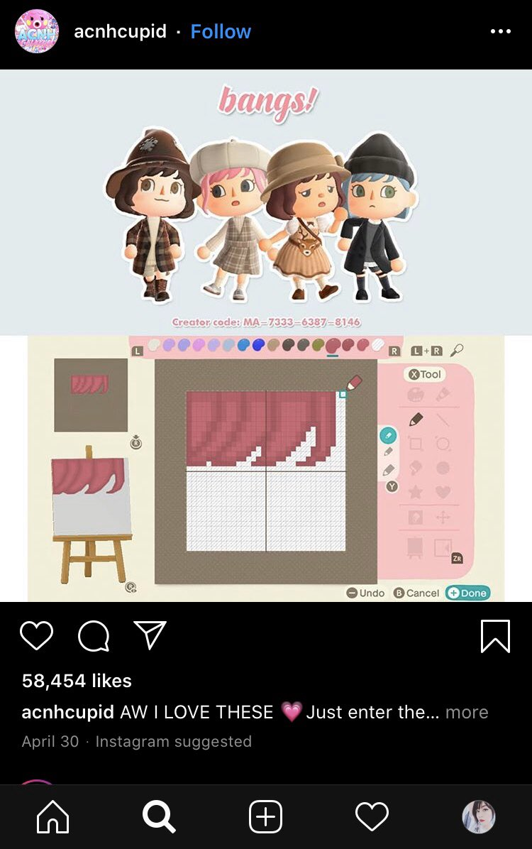 Found this on IG  Such a cute idea!!! #AnimalCrossingNewHorizons #ACNH #ACNHDesign #creatorcode pic.twitter.com/gAhH06qDuP