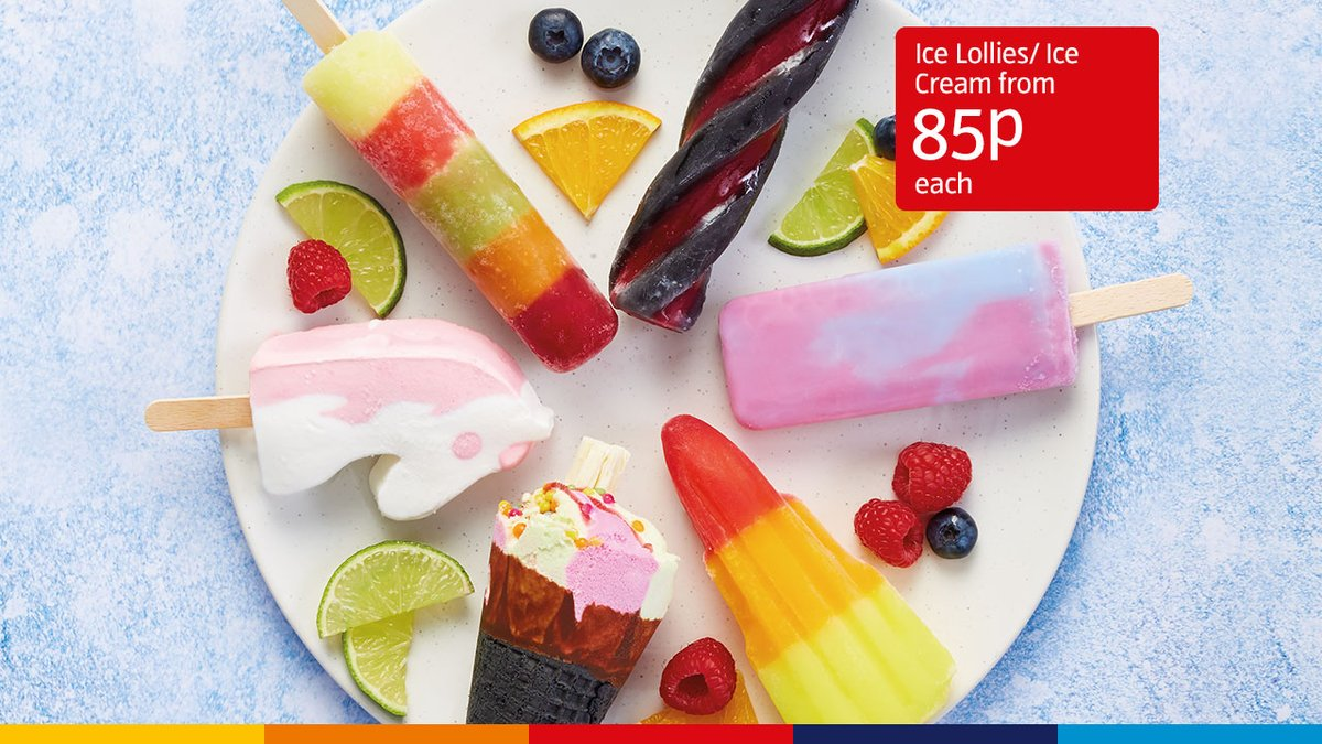 Don't be a melt this bank holiday and treat yourself to a selection of our iced treats when you next shop at Aldi🍦 https://t.co/XYPAgBX25r