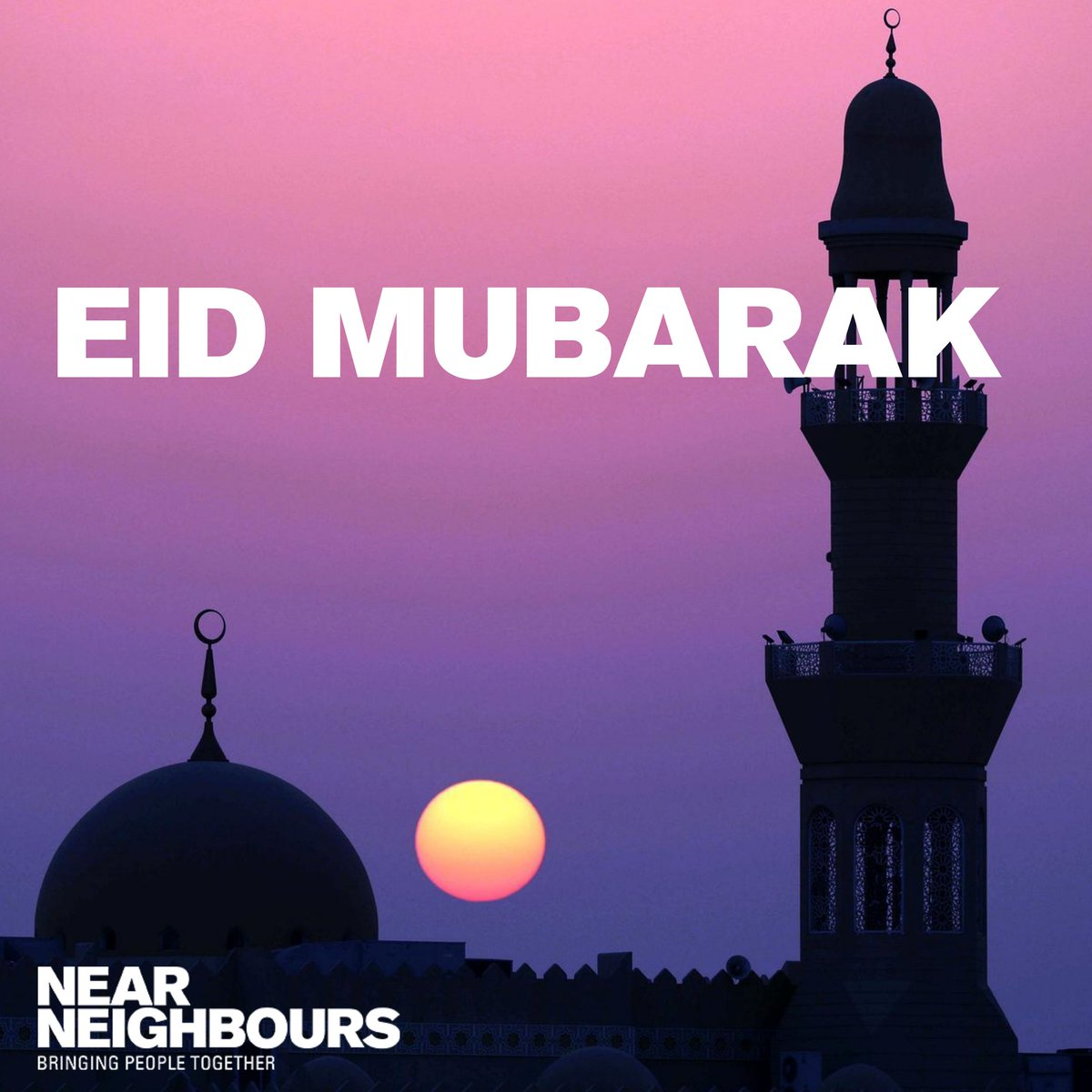 We wish a healthy and peaceful #Eid-al-fitr to all our Muslim colleagues and friends. #Covid_19 makes impossible to celebrate the end of #RamadanAtHome with the community at the #mosque, but we really hope all families can have happiness and prosperity in this blessed day. https://t.co/RHsDFLB5rA