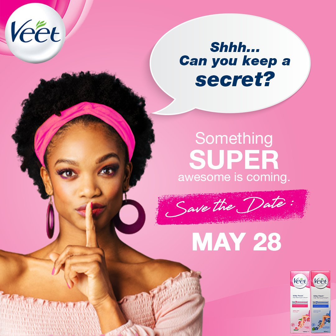 Hi Ladies, we have a SUPER awesome surprise coming.   Are you ready?.   Follow us to stay up to date.  #JustVeetIt https://t.co/qCEN392Jr4