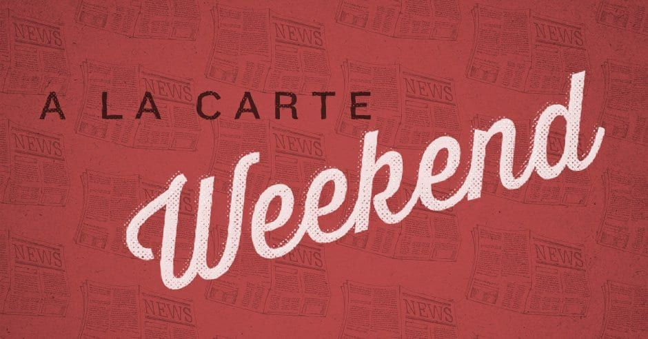 Weekend A La Carte: One could never say enough / why we dont see church as essential / the miracle sudoku / the nightmare colleges face this fall / we need rainy times / shorter online preaching / Kindle deals / and more. challies.com/a-la-carte/wee…
