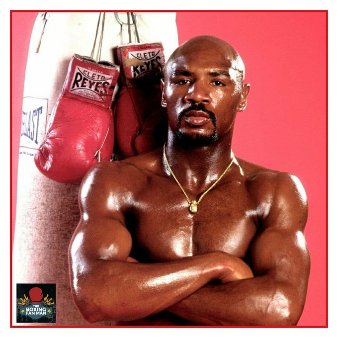 Happy 66th birthday to Marvelous Marvin Hagler. What a great fighter!