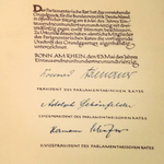 Image for the Tweet beginning: Happy Birthday #Grundgesetz!  Selten wurden #Menschenrechte