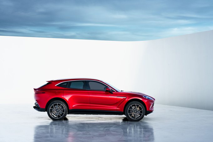 Our first luxury SUV, DBX…