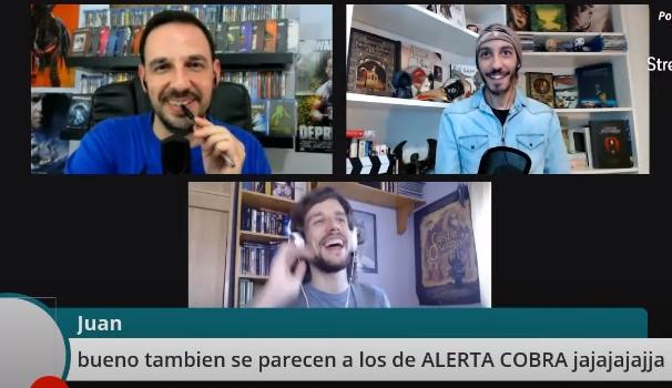 Si no pudiste verlo en directo,  no dejes de verlo en diferido. @CinePuntodeGiro pasó por la sección de CHARLA CON UN YOUTUBER, se mojaron, nos contaron como es su día a día al frente del canal e incluso dejaron alguna perlita... LINK:  https://xurl.es/kdb1hpic.twitter.com/NeLCF1ggwk