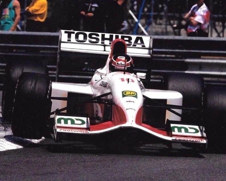 RT @zdravkost: Aguri Suzuki in his Footwork FA13 - Mugen Honda MF-351H #V10 at Monaco 🏎️💨🎌 #F1 1992 #MonacoGP https://t.co/zDJwFFkBOH