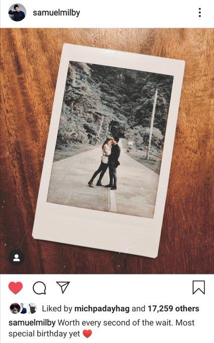 Is Sam Milby dating Miss Universe 2018 Catriona Gray? Happy Birthday, Sam!