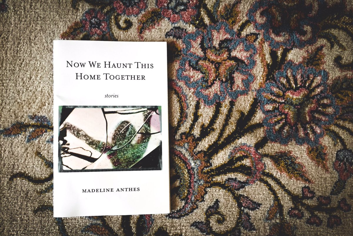 Finally got my copy of @maddieanthes book NOW WE HAUNT THIS HOME TOGETHER (@boneninkpress)!