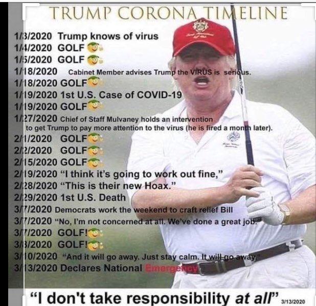 #TrumpDeathToll100K Photo