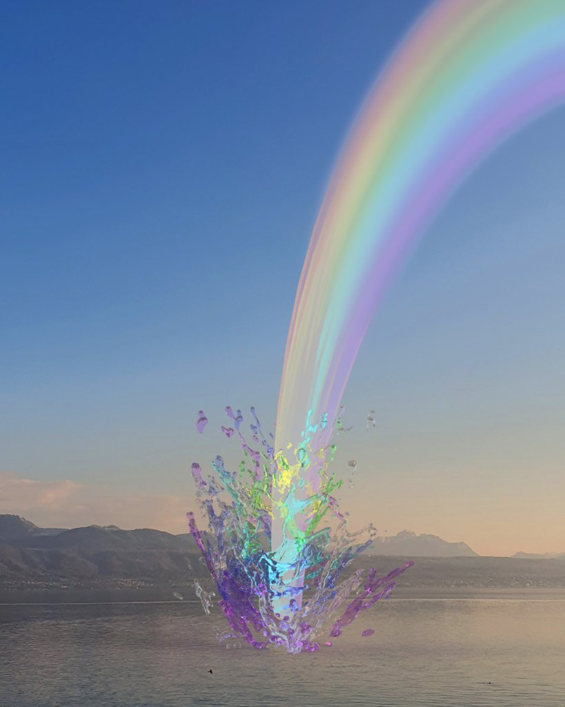 Envisioning the rainbow. #LouisVuitton shares a message of hope around the world by inviting members of the community to creatively interpret the rainbow. #LV🌈 Image by @AndyPicci