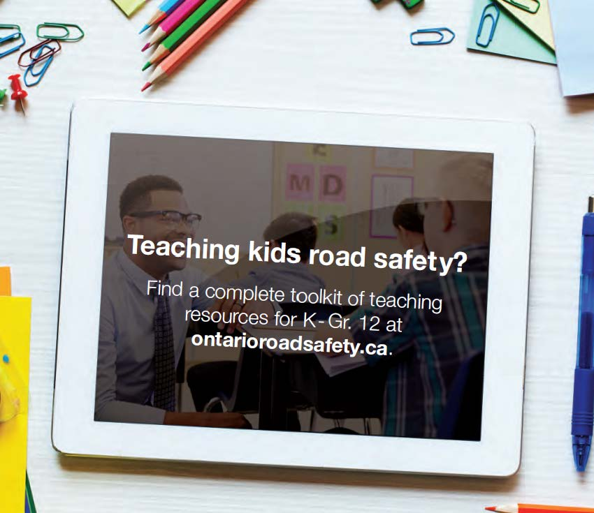 The https://t.co/zL0ld9gJ31 resource was developed by educators to teach students how to stay safe on the road – whether by walking, biking or driving. Lesson plans can be adapted to teach road safety even when learning at home. @ON_RoadSafety https://t.co/YJ602gJELL