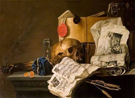 #haikai #haiku #poesia #poetry #escritor #writer #WritingCommunity #ComunidadeLiteraria #HaikuChallenge  Deep down quite dark caves Some dusty books will preserve Our weird #graphic signs  Painting:  Vanitas (N. L. Peschier)pic.twitter.com/wtkzYMvFEy