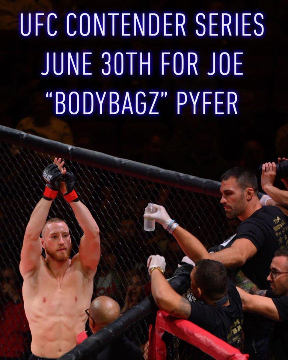 JUST ANNOUNCED:  Joe Pyfer get call to #DWCS #UFC https://t.co/WqdVmAqrT4