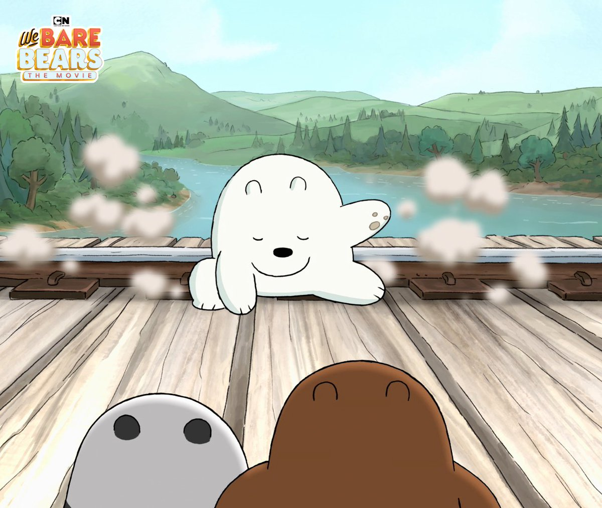 When the Bear Bros meet for the very first time! 🐻🐼❄️ Watch how they became a family in the #WeBareBearsMovie June 8 on Apple, Google Play, Amazon! (USA and CA only)  #WeBareBears #CartoonNetwork
