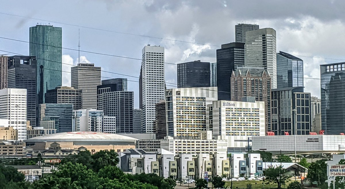 Downtown Houston looked beautiful today.  #Houston pic.twitter.com/w9zoTzXqc9